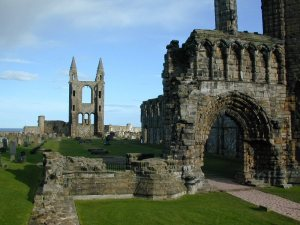 St_Andrews_Cathedral_Ruins_Front